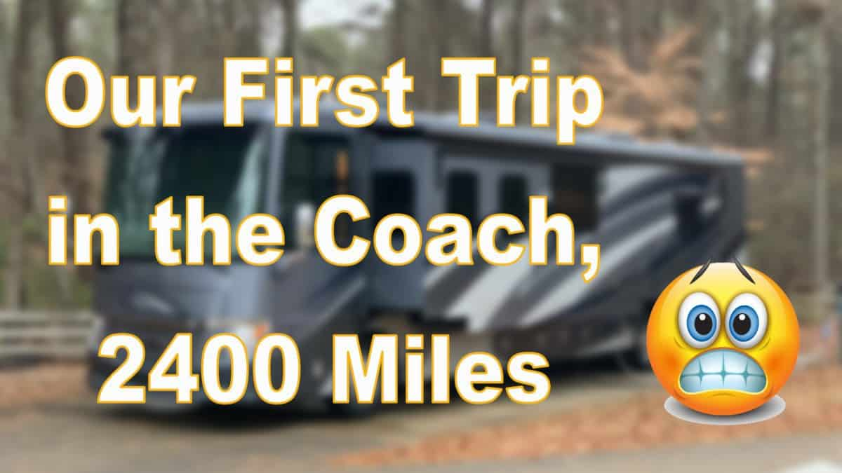 Our First Trip in Our New Ventana Coach to Branson 5