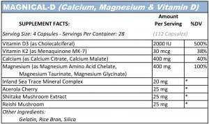 Magnical-D (Calcium, Magnesium, Vitamin D, Vitamin K2)