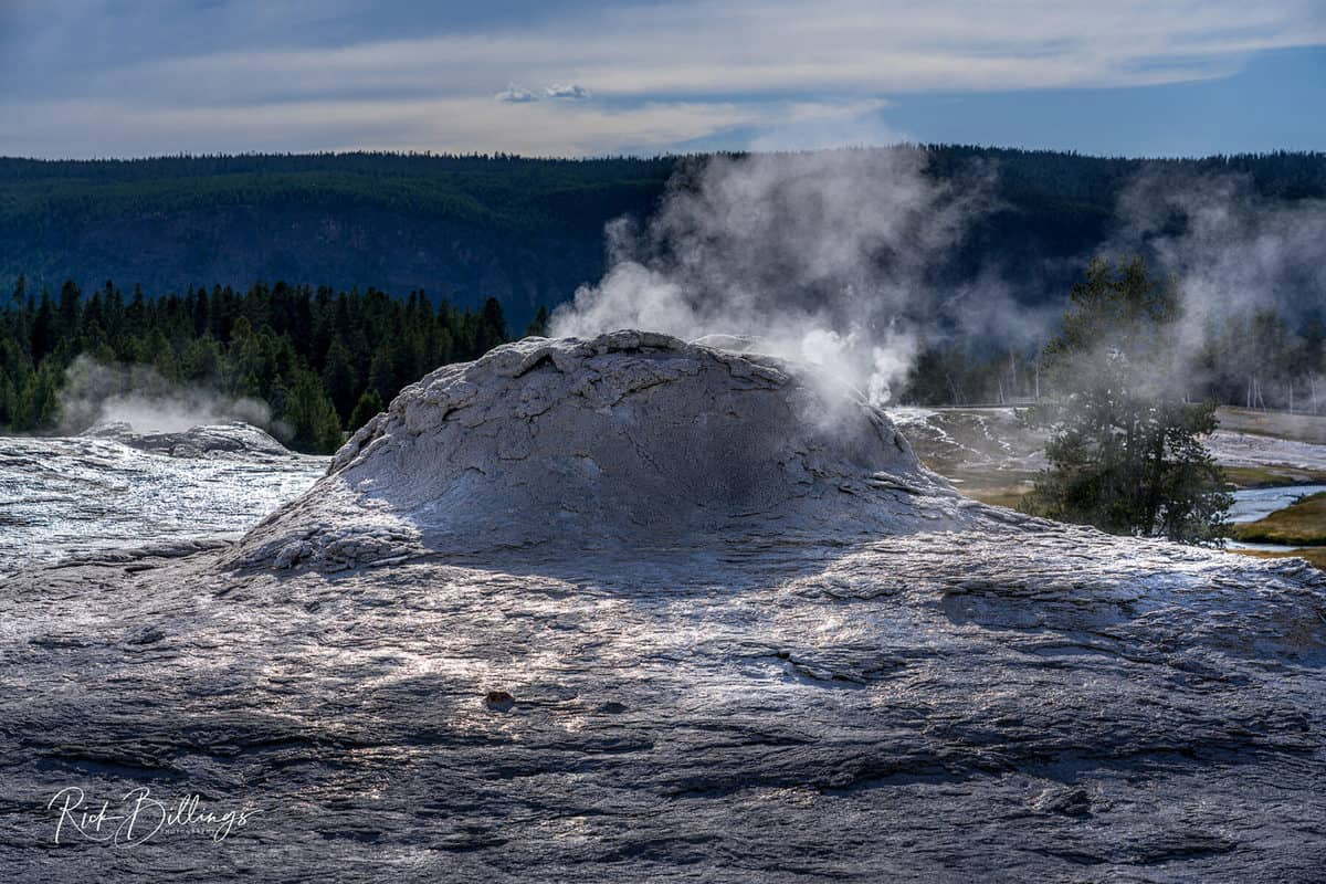 No 1042 20190820 Yellowstone Lion Geyser