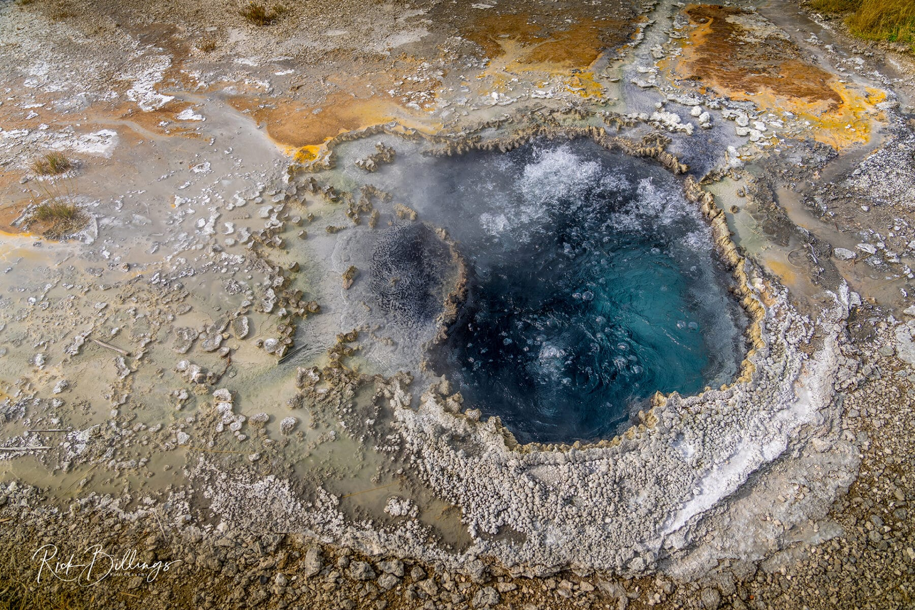 No 1052 20190820 Yellowstone Geyser