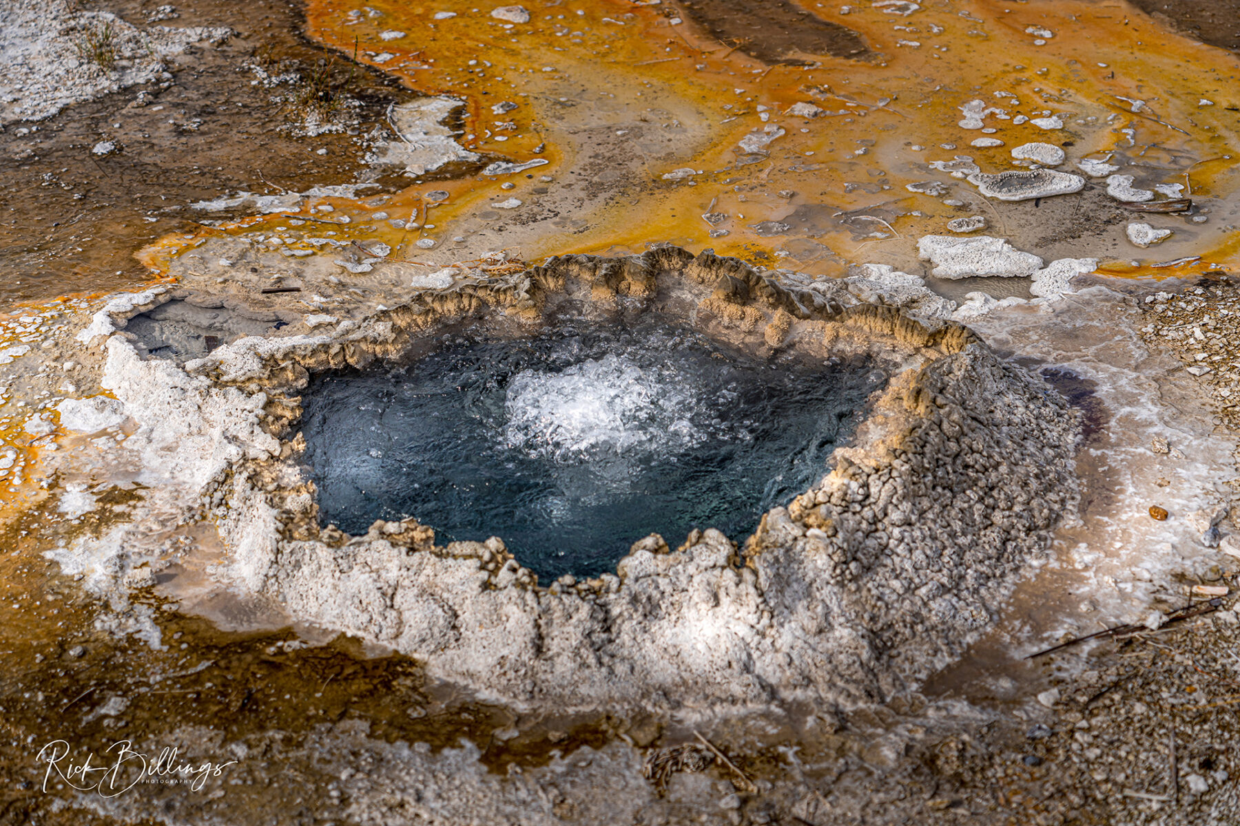 No 1053 20190820 Yellowstone Geyser
