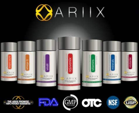 ariix products with certificates