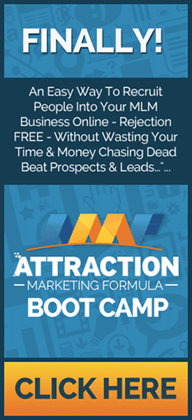 Attraction Marketing Forumla