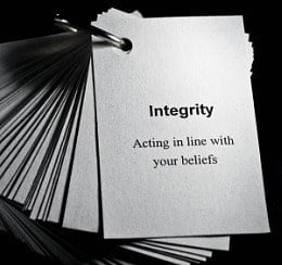 attraction marketing thru business integrity
