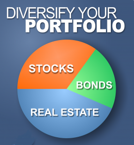 diversify investment to get rich