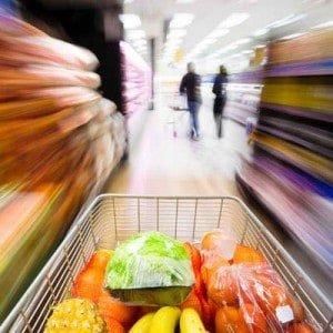 fun way to burn calories by grocery shopping