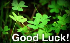 get rich thru luck