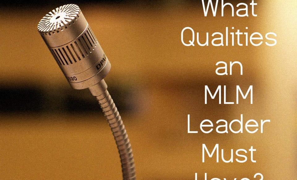 mlm leader - network marketing