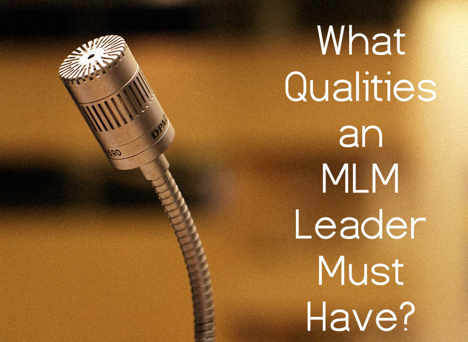 mlm leader - network marketing