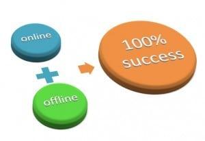 network marketing success online and offline