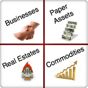 papers assets to get rich