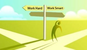 work hard not smart to truly get rich