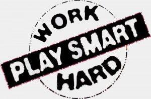 work hard to get rich