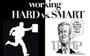 work smart to get rich